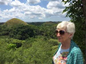 Dada at the chocolate hills mirador