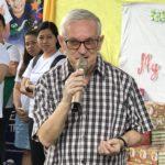 Fr. Julio welcomes us to Payatas.